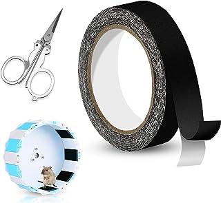 16.4 ft Sandy Trimmer Strip with Foldable Scissor Sandy Track for Small Pet Exercise Wheel, Hamster Running Wheel, Flying ...