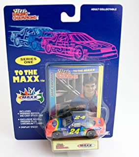 Jeff Gordon Racing Champions Series 1 to The Maxx Du Pont Car 24 with Collector Card