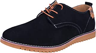 WhiFan Chaussure de Ville Homme Cuir Oxfords à Lacets Derbies Chaussures
