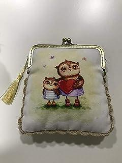 Amazon.es: Carteras Tela Hechas Mano: Handmade