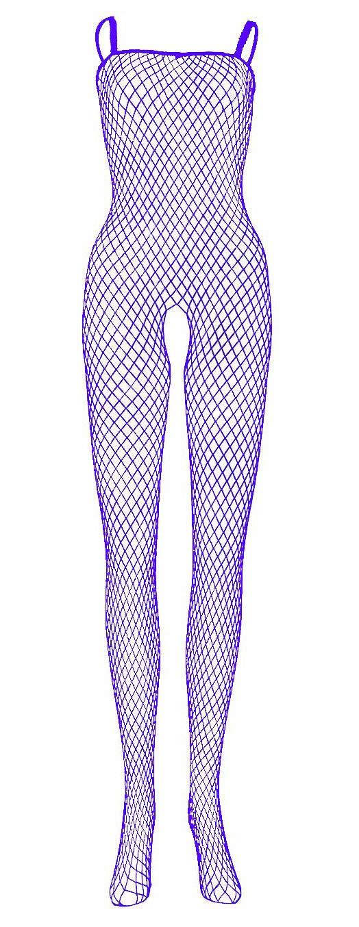 Womens Bodysuit Body Stocking Lingerie Fishnet Babydoll Sleepwear Nightwear US