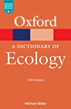 A Dictionary of Ecology (Oxford Quick Reference Online)