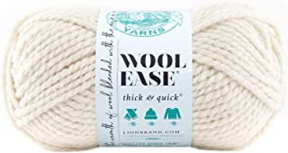 Lion Brand Bulk Buy Wool Ease Thick and Quick Yarn (3-Pack) Fisherman 640-099
