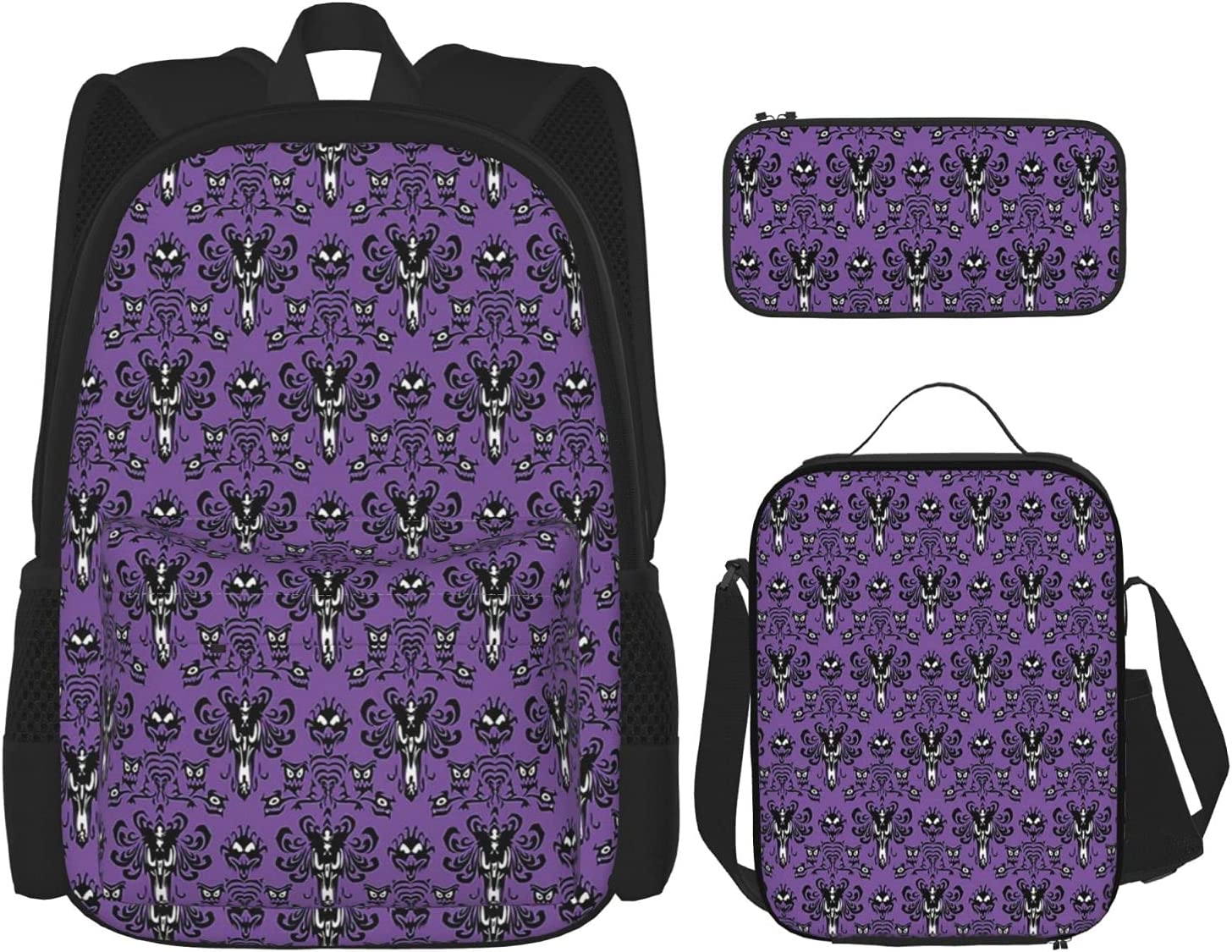 Haunted Max 68% OFF Mansion Backpack Light Laptop Sets with Bag Pencil Direct stock discount CaseL
