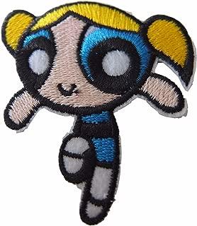 Powerpuff Girls Bubbles Figure Iron On Patch