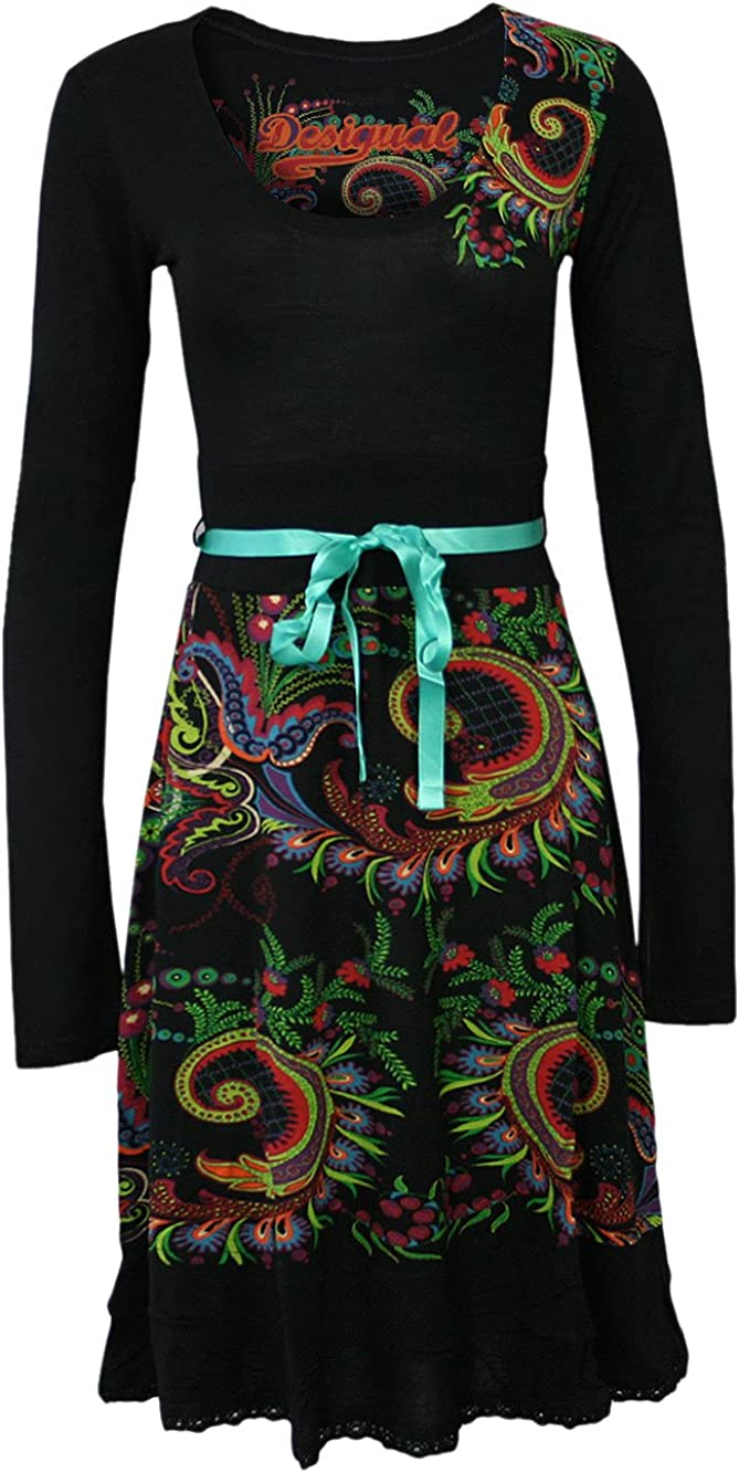 Desigual Women's Stella long Sleeves Dress