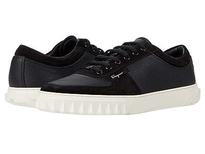 Salvatore Ferragamo Scuby Sneaker (Black) Men