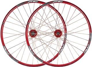 MZPWJD Mountainbike Laufradsatz 26inch MTB Fahrradfelgen Aluminiumlegierung Doppelwandfelge Scheibenbremse Abgedichtete Lager 7 8 9 10 Geschwindigkeit