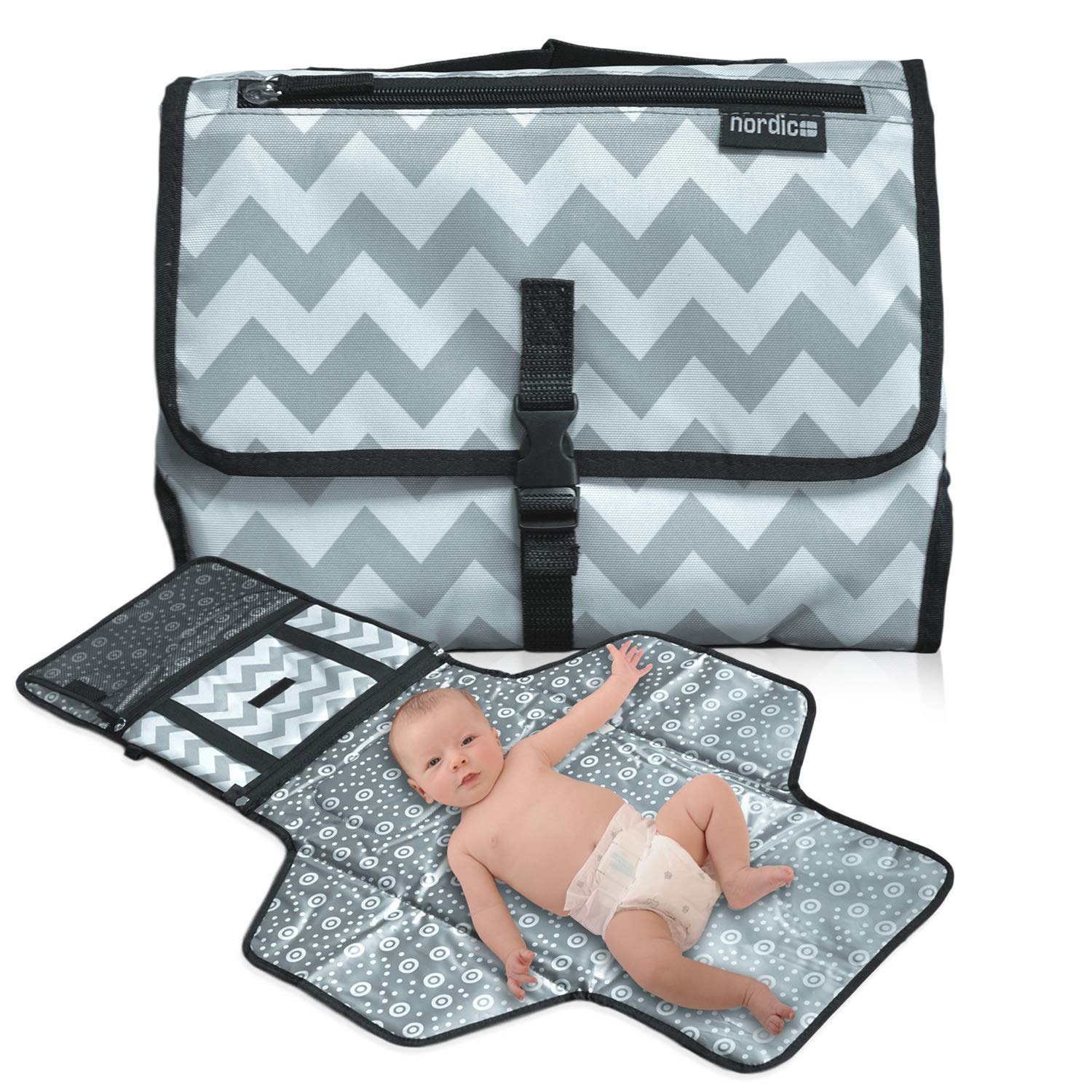 Daily Nordic Portable Travel Diaper Changing Pad Mat