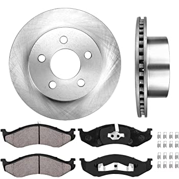 2001 Fit Jeep Grand Cherokee OE Replacement Rotors w//Ceramic Pads F See Desc.