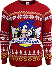 Official Classic Sonic Christmas Jumper / Ugly Sweater (UK 3XL/US 2XL)
