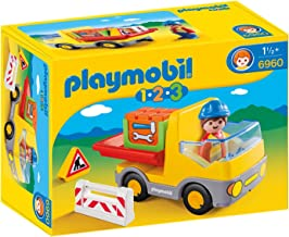 PLAYMOBIL- Construction Truck Kipper Playset, Color (6960)