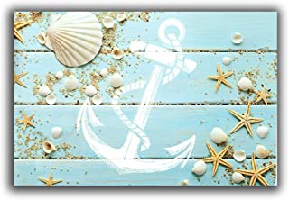 Vandarllin Beach-Themed Nautical Doormats (18