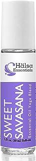 Sweet Savasana Essential Oil Yoga Blend Aromatherapy Roll On, 10ml from Halsa Essentials
