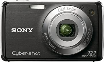 Sony Cyber-shot DSC-W230 12.1 MP Digital Camera with 4x Optical Zoom and Super Steady Shot Image Stabilization (Black)
