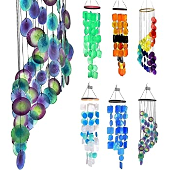 Gorgeous Unique Hanging 40259 Large Wind Chime with Elephant Butterfly /& Bells