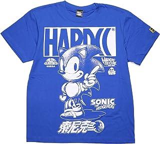 (ハードコアチョコレート) HARDCORE CHOCOLATE ソニック・ザ・ヘッジホッグTシャツ (音速ロイヤルブルー)(SS:TEE)(T-1093-BL) Tシャツ 半袖 カットソー ゲーム SEGA セガ 国内正規品
