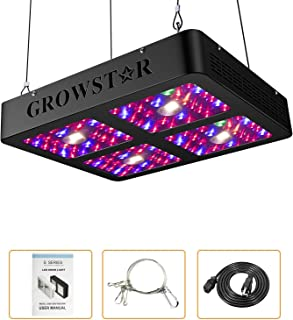 Growstar 1200W COB LED Grow Light, UV & IR Full Spectrum 3000K CREE COBs and 10W Double Chips for for Hydroponic Greenhouse Indoor Plant Veg and Flower