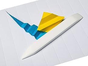Mr HobNob Large Teflon Bone Folder - Large Handmade Tool, Best for Bookbinding, Origami, Paper Crafts, Scoring, Folding, C...