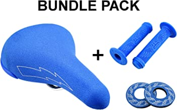 SE Bikes Flyer Seat Bundle 3 Items: SE Flyer Seat with SE Wing Grips with SE Wing Donuts