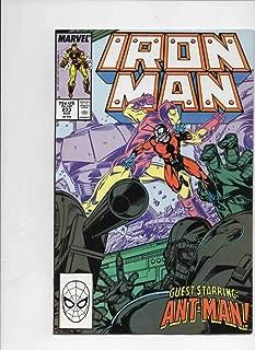 IRON MAN #233, VF/NM Tony Stark, Ant Man, 1968 1988, more IM in store, Marvel