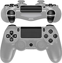eXtremeRate Conjunto completo de botões de substituição com símbolos clássicos pretos para controle Playstation 4 PS4 Slim...