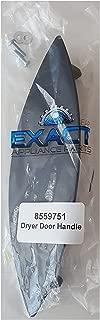 8559751 OEM Replacement Black Aluminum Metal Alloy Dryer Handle