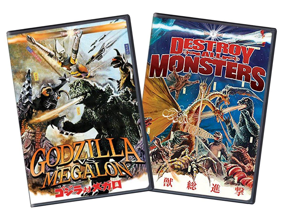 Godzilla Direct sale of manufacturer Vs. Megalon Destroy all Monsters Barebone Two-Pack 5% OFF