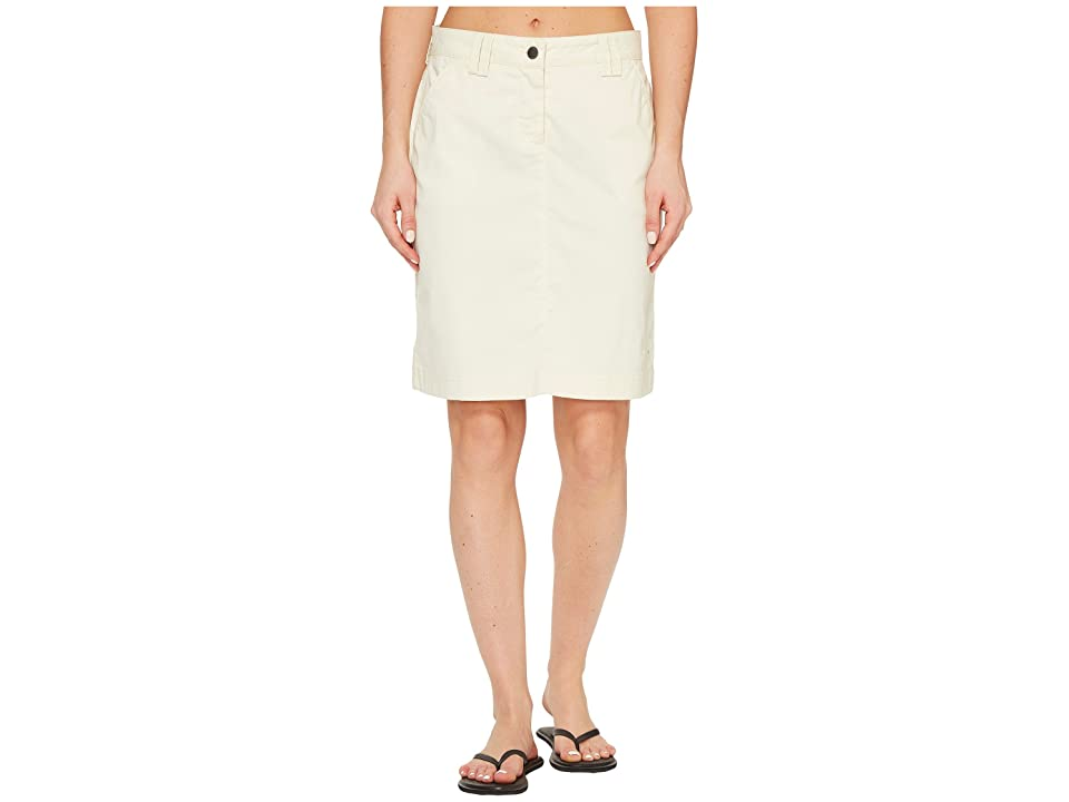 Jack Wolfskin Liberty Skirt (White Sand) Women
