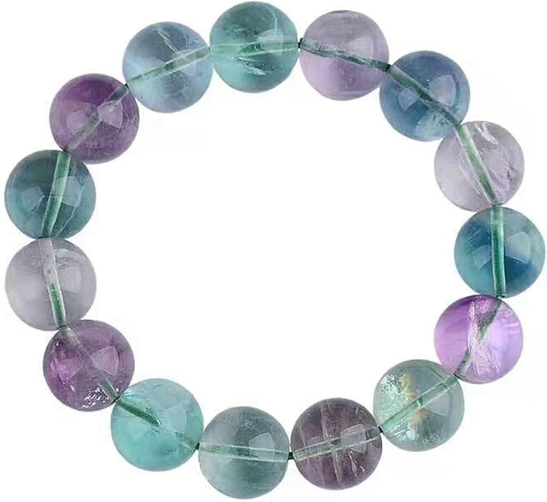 14mm Precious Natural Fluorite Fluorspar Gemstone Crystal Round