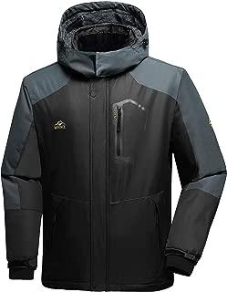 Men's Mountain Waterproof Ski Jacket Windproof Rain Jacket
