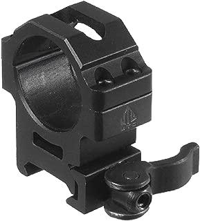 UTG 30mm/2PCs Med Pro LE Grade Picatinny QD Rings: 22mm Wide