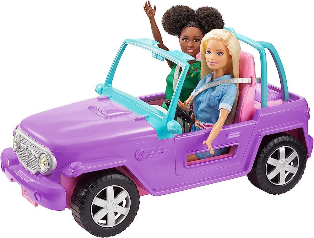 Barbie,veicolo jeep da spiaggia GMT46