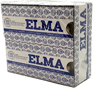 ELMA Sugar-free Mastic Gum from Chios, 10-pack, Imported From Chios Greece