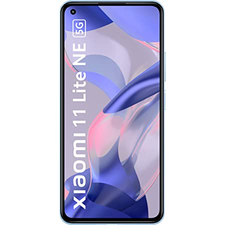 Xiaomi 11 Lite NE 5G (Jazz Blue 6GB RAM 128 GB Storage) | Slimmest (6.81mm) & Lightest (158g) 5G Smartphone | 10-bit AMOLED with Dolby Vision | 6 Months Free Screen Replacement for Prime