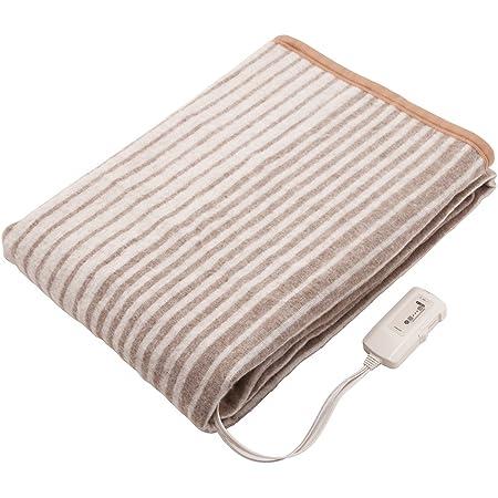 コイズミ 電気毛布 掛敷毛布 水洗い可能 188×130cm KDK-6061