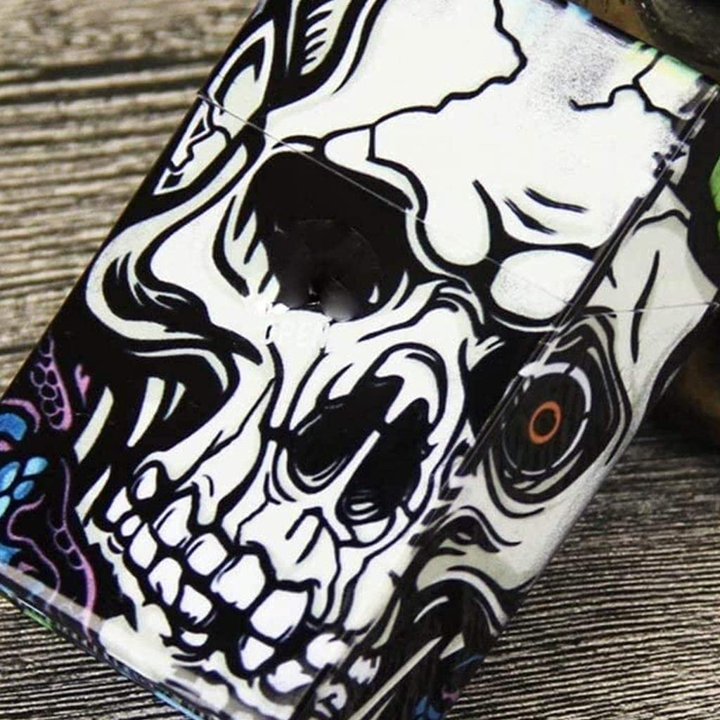 KMDJ El Paso Mall Spring new work one after another Cigarette Case Plastic Print Skull Auto with