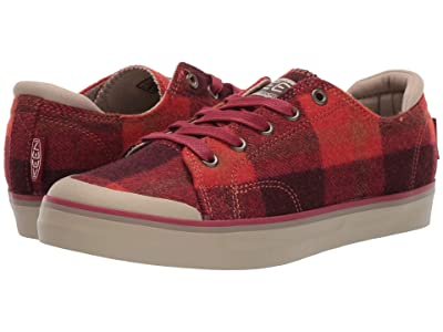 Keen Elsa III Sneaker (Red Plaid/Plaza Taupe) Women