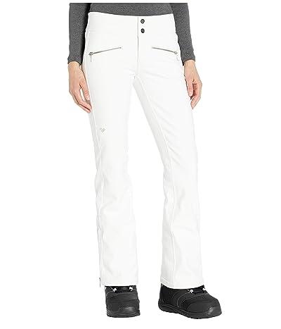 Obermeyer Clio Softshell Pants (White) Women
