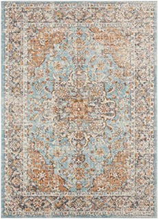Luxe Weavers Kingsbury Collection Oriental 8x10 Blue Traditional Area Rug