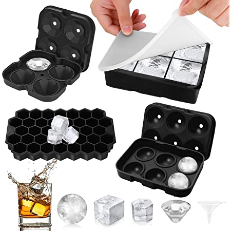Diamond Shape Silicone Ice Cube Tray Box Ice Maker Box Chocolate Mold