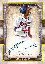 Only 50 made! 2016 Topps Five Star Gold #FSA-JU Julio Urias Certified Autograph Baseball Rookie Card