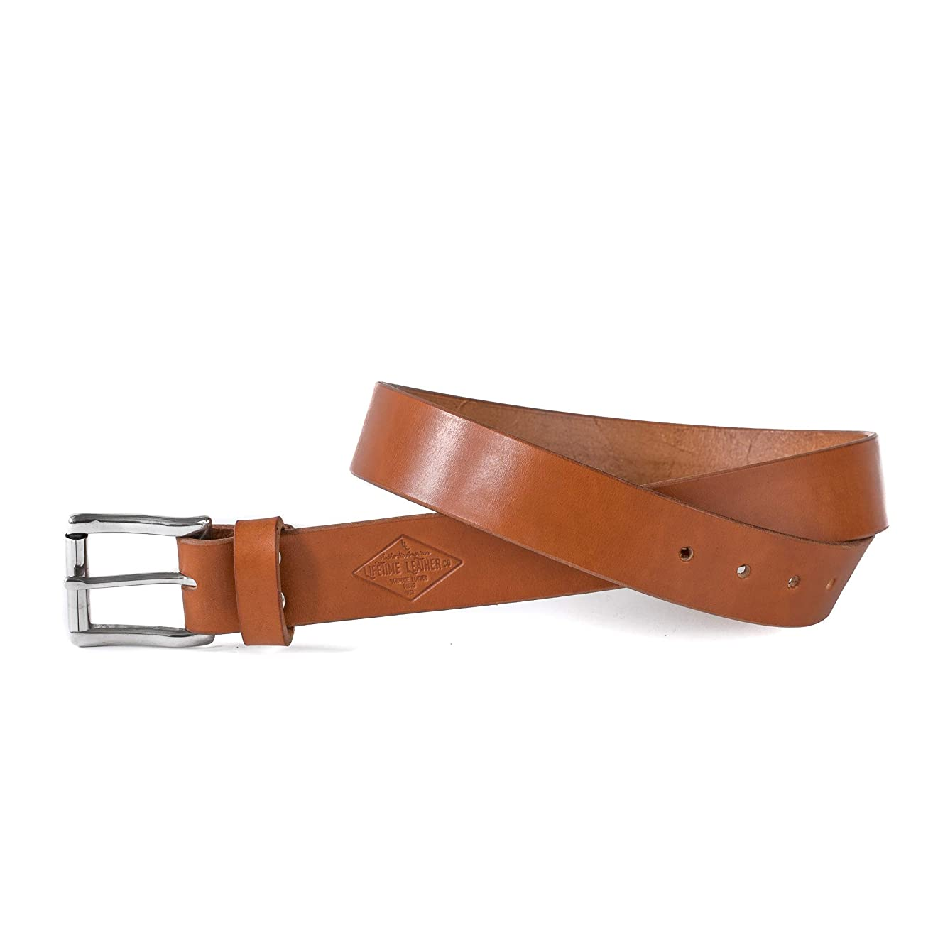Tan Leather Belt, 1.5
