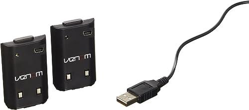 Batterie Twin Pack pour Xbox 360 noir