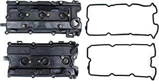 Brand New FVC110K Valve Cover Gaskets, Valve Cover, and Spark Plug Tube Seals (Both Left and Right Side) for Infiniti & Nissan 3.5L V6 DOHC Engine Code VQ35DE 2003-07 Murano