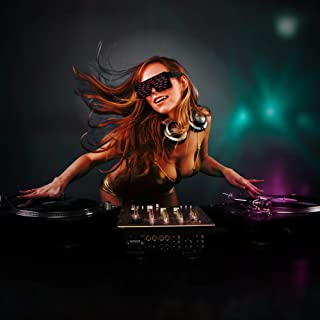 RED LED Flash Glasses 8 Adjustable Patterns Luminous Flashing Shades Eye Wear For Birthday Party Bashes Corporate Events Raves Music Festivals Nightclubs Concerts Weddings Stage Dancing Group Fitness Great Kids Toy or Gift Fun and Simple