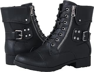 rave combat boots