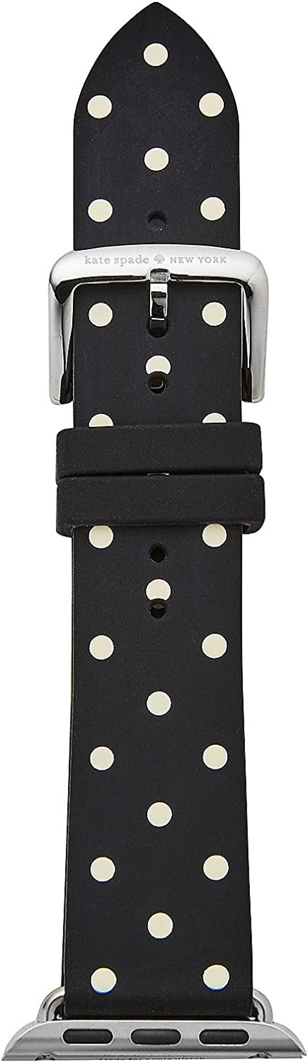 Kate Spade New York 38mm Apple Straps Silicone Watch Strap (Model: KSS0005)