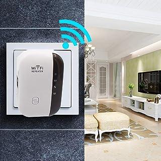 Leruyx WiFi Range Extender 300Mbps Repetidor inalámbrico WiFi Mini Amplificador de señal portátil Punto de Acceso inalámbrico Amplificador de señal Ap