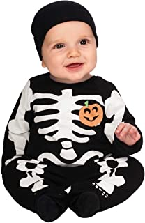 Costume My First Halloween Black Skeleton Costume